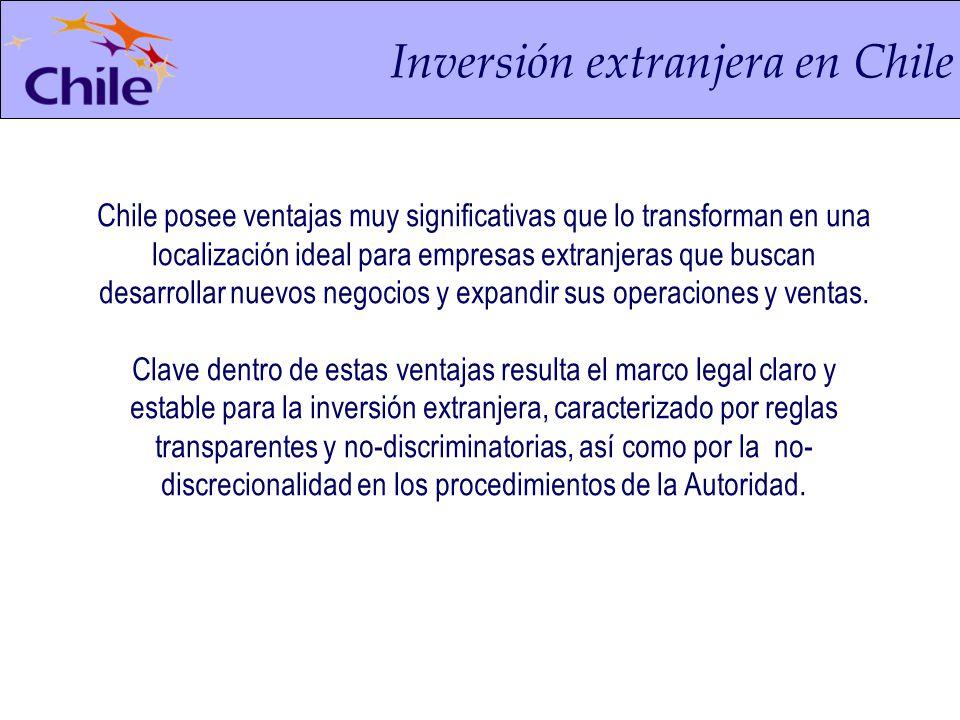 Principales características del DL 600 Toda persona domiciliada en Chile, pagará impuestos sobre sus rentas de cualquier origen y las no residentes en Chile estarán sujetas a impuesto sobre rentas cuya fuente esté dentro del país.