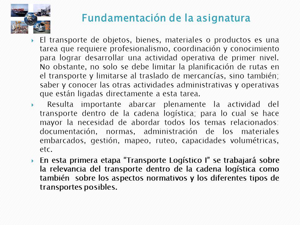 El transporte de objetos, bienes, materiales o productos es una tarea que requiere profesionalismo, coordinación y conocimiento para lograr desarrolla