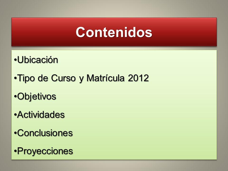 Propuesta y Proyecciones Educativas Escuela Técnica Flor de Maroñas 2012 - 2013 Escuela Técnica Flor de Maroñas 2012 - 2013