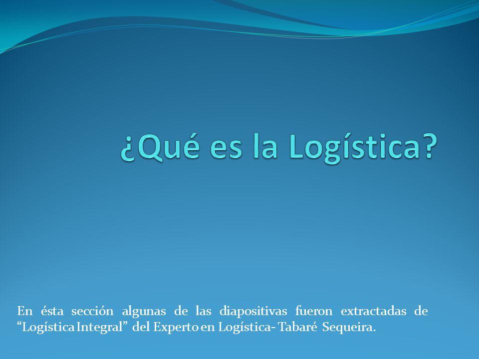 Prever para proveer Todo buen logístico siempre recordará :
