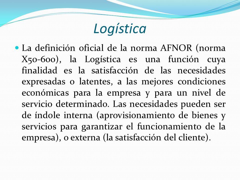 Logística - DRAE Logística. (Del ingl. logistics). f. Parte de la organización militar que atiende al movimiento y mantenimiento de las tropas en camp