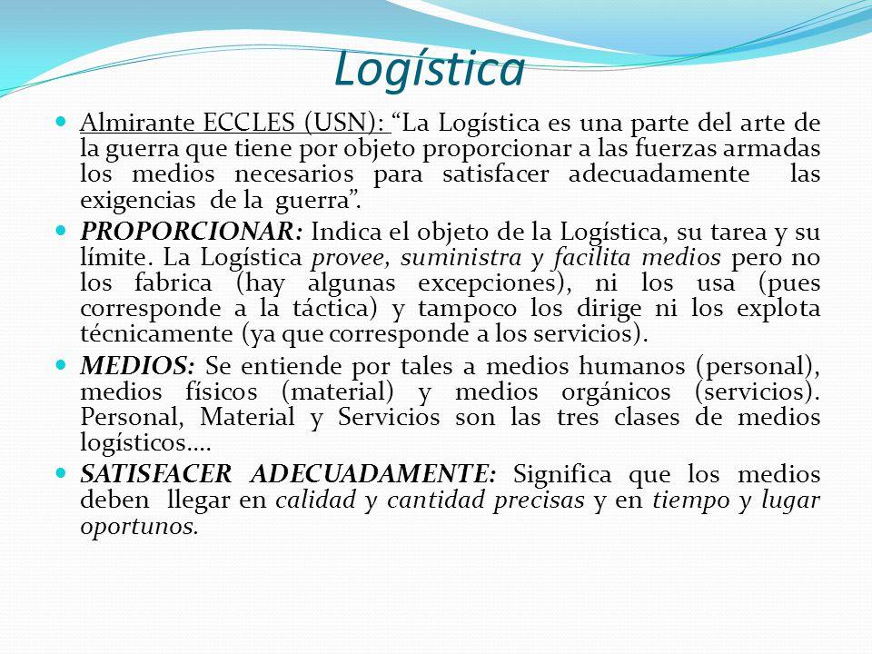 Logística Otra definición de Logística, según Martín Christopher, Profesor de Logística de la Cranfield University (Bedfordshire, Reino Unido), es el