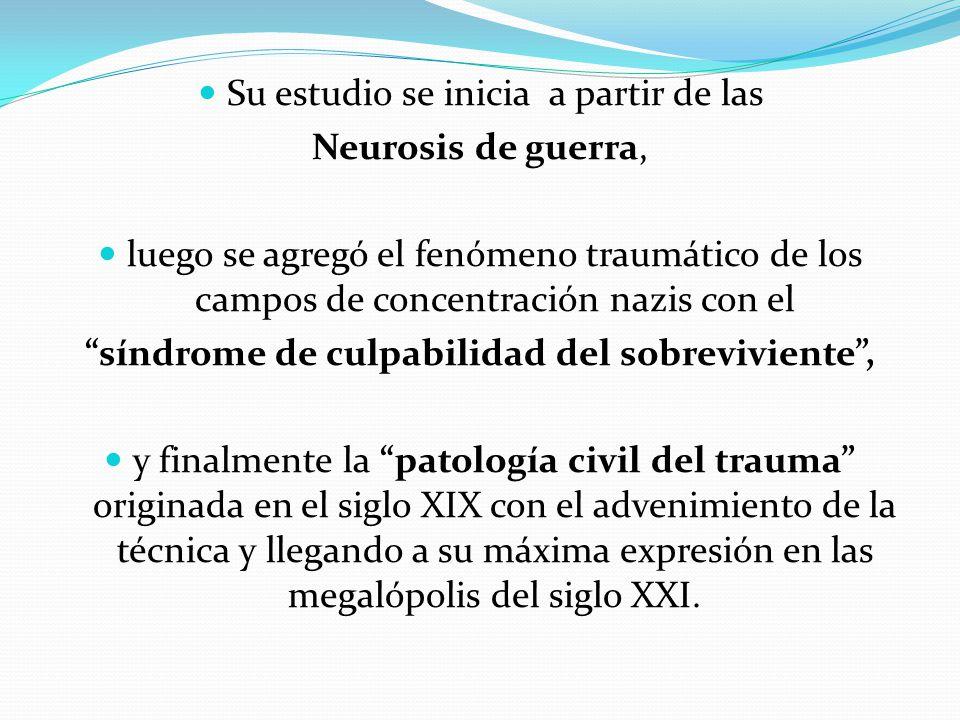 Un caso clínico Una mujer joven que consulta luego de las bombas en los trenes en Atocha, Madrid, España.