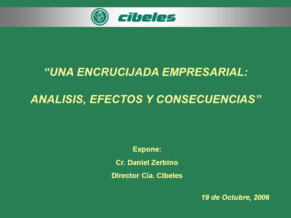 UNA ENCRUCIJADA EMPRESARIAL: ANALISIS, EFECTOS Y CONSECUENCIAS Expone: Cr.