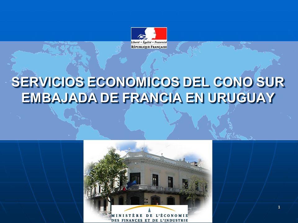 Encuentro Empresarial – Montevideo - 6 de junio de 2006 2 Intercambios Bilaterales entre Francia y Uruguay