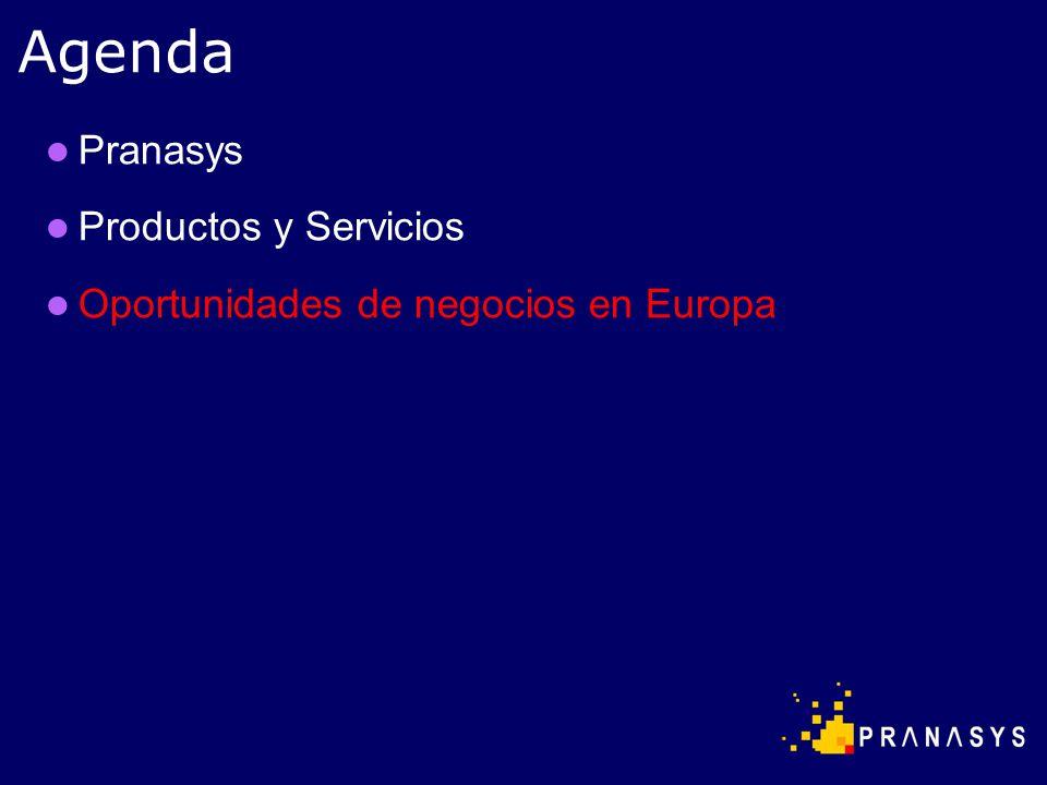 Pranasys Productos y Servicios Oportunidades de negocios en Europa Agenda