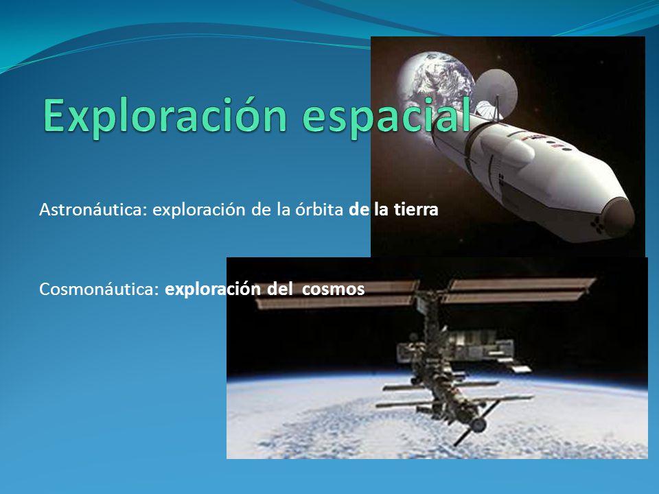 Astronáutica: exploración de la órbita de la tierra Cosmonáutica: exploración del cosmos