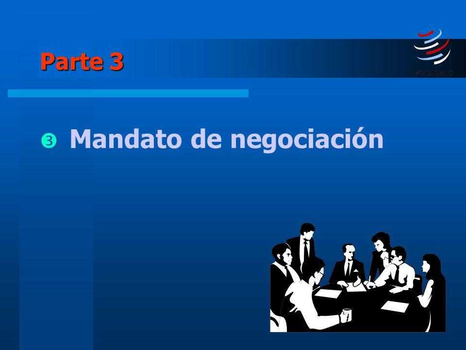 22 Parte 3 Mandato de negociación