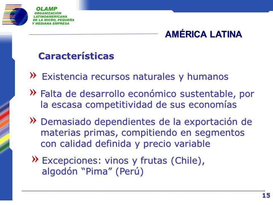 COMPETITIVIDAD Nación Es el grado al cual se puede producir bajo condiciones de libre mercado, bienes y servicios que satisfacen a los mercados internacionales y paralelamente incrementar los ingresos reales de sus ciudadanos 14