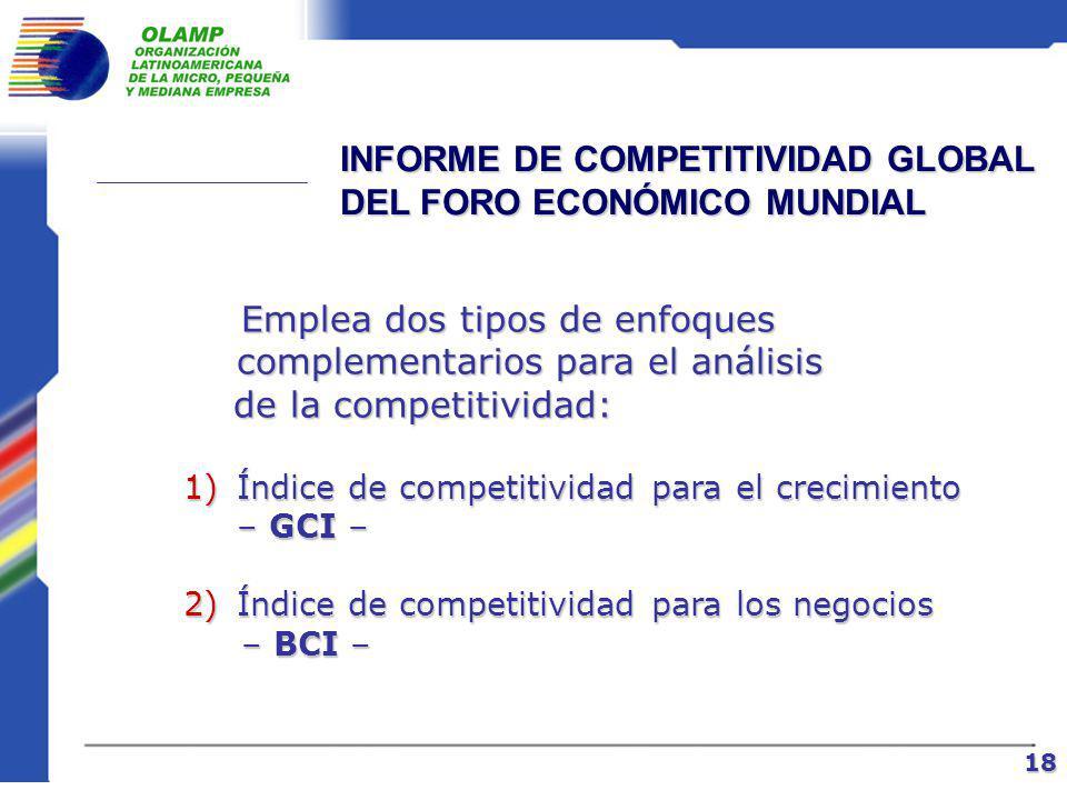 » Una amplia y real cohesión del Estado y las empresas, conjuntamente con un adecuado aprovechamiento y aplicación de sus recursos INICIO DE UNA NUEVA ETAPA 17» Políticas económicas consistentes Condiciones:
