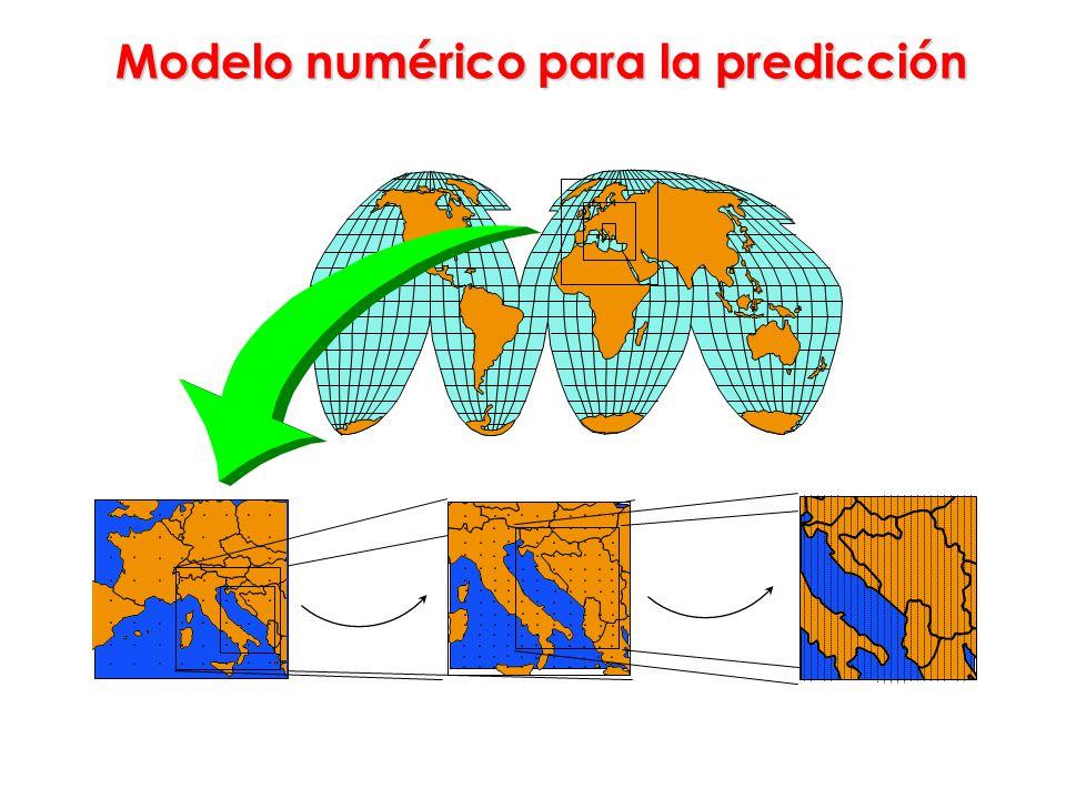 Modelo numérico para la predicción