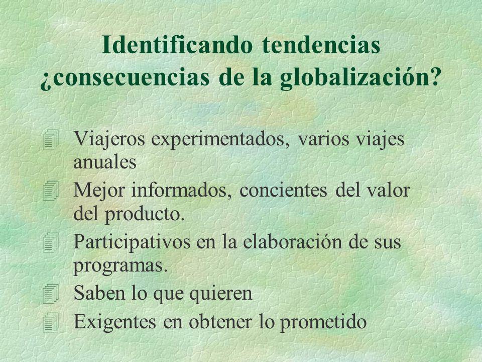 Identificando tendencias ¿consecuencias de la globalización.