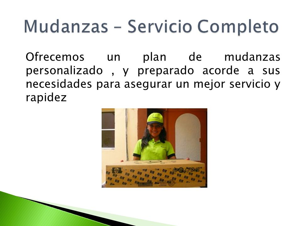 Ofrecemos un plan de mudanzas personalizado, y preparado acorde a sus necesidades para asegurar un mejor servicio y rapidez