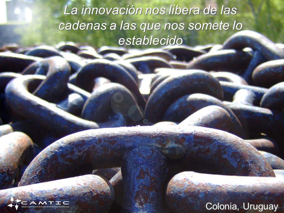 La innovación nos libera de las cadenas a las que nos somete lo establecido Colonia, Uruguay