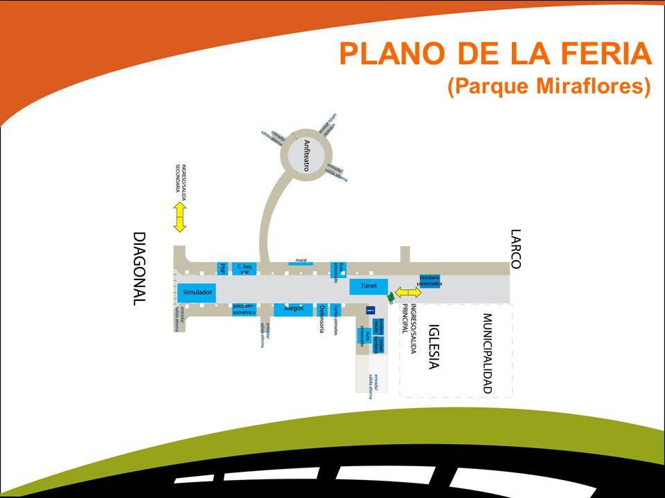 PLANO DE LA FERIA (Parque Miraflores)