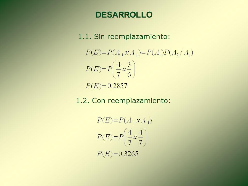 7. REGLA DE LA MULTIPLICACIÓN. Sea A y B dos eventos cualesquiera; entonces: Si: P(A B) = P(B). P(A/B) = P(A.B); cuando : P(B) 0 Si: P(A B) = P(A). P(