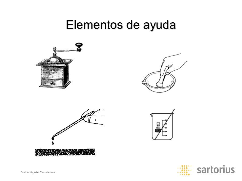 Andrés Cepeda - Mechatronics Elementos de ayuda