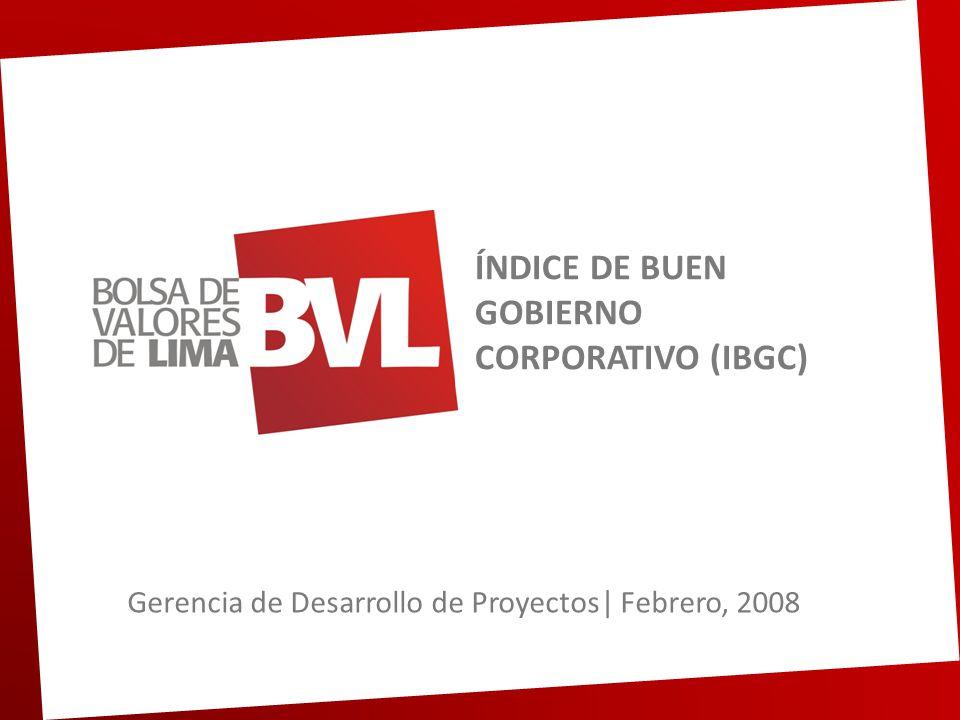 Contenido 1.Objetivo del proyecto.2.Pasos a seguir para formar parte del IBGC.
