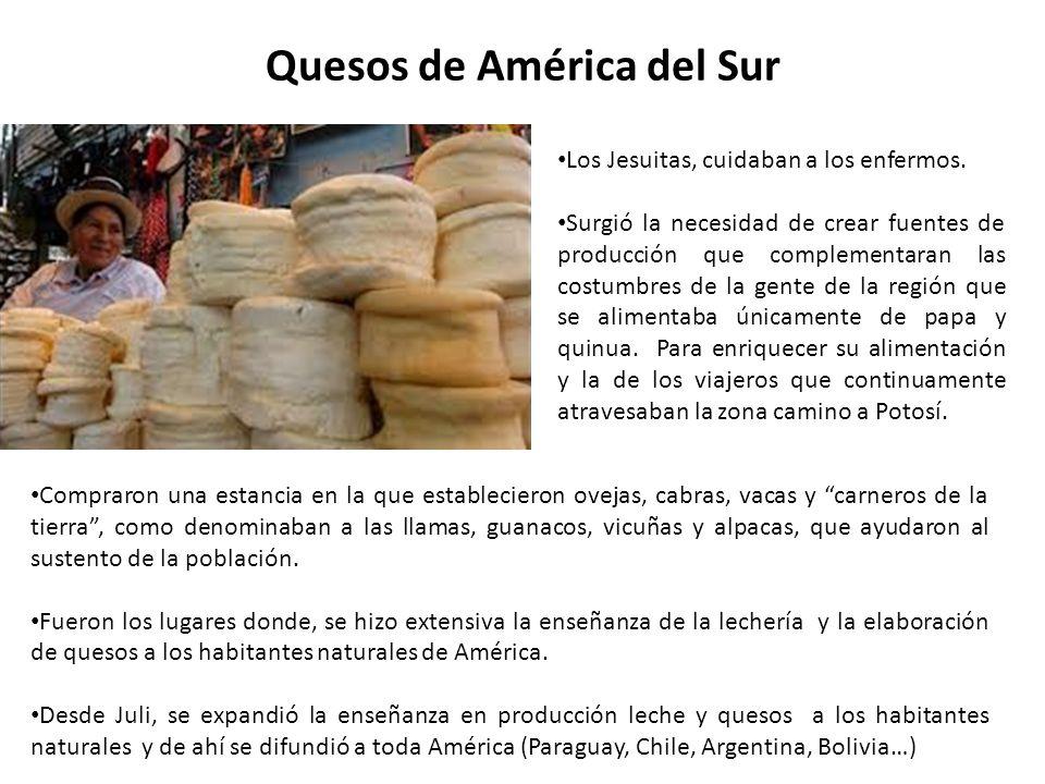 ¿En qué lugares del Perú se produce leche y quesos.