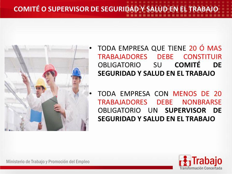 ESTRUCTURA Y ORGANIZACIÓN DEL COMITÉ DE SST EL COMITE DE SST ES PARITARIO, CONFORMADO POR IGUAL NUMERO DE REPRESENTANTES DE LA PARTE EMPLEADORES Y TRABAJADORES INTEGRANTES DEL COMITÉ PUEDE VARIAR DE ENTRE 4 Y 12 DEBERA ESPECIFICARSE LOS MIEMBROS TITULARES Y SUPLENTES LOS EMPLEADORES QUE CUENTAN CON SINDICATOS INCORPORARAN UN MIENBRO EN CALIDAD DE OBSERVADOR