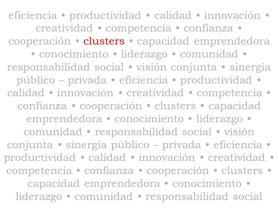 Clusters Los fundamentos de los clusters datan de fines del siglo XIX: Los misterios de la industria dejan de ser misterios; están, por así decirlo, en el aire.