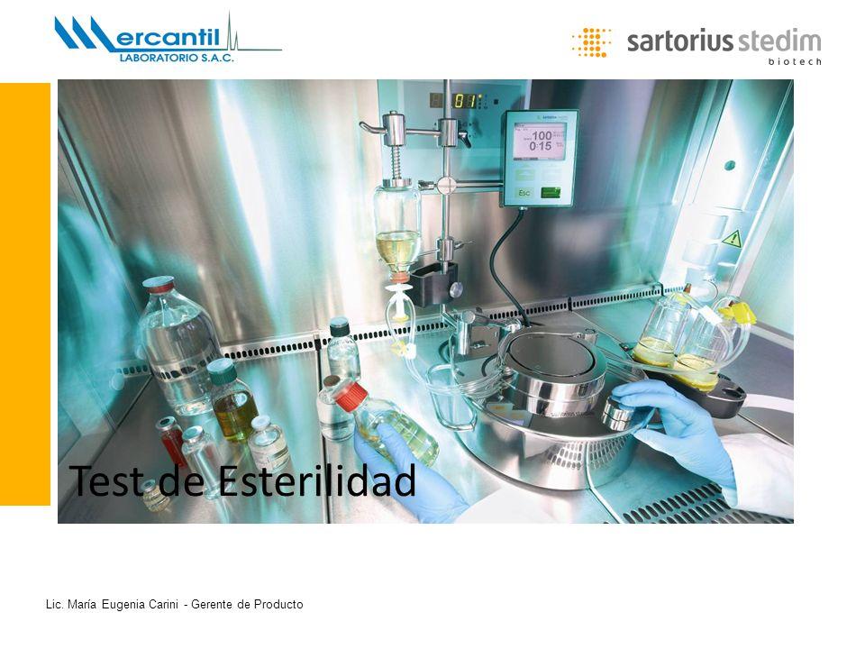 Lic. María Eugenia Carini - Gerente de Producto Test de Esterilidad