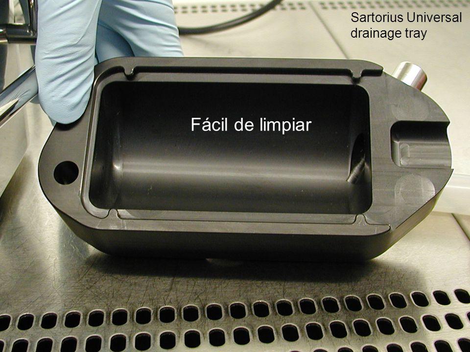 Lic. María Eugenia Carini - Gerente de Producto Fácil de limpiar Sartorius Universal drainage tray