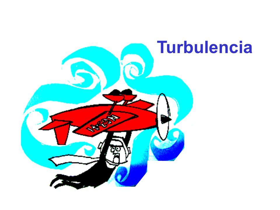 Turbulencia: Estado de un fluido en el que las velocidades de las partículas muestran fluctuaciones irregulares y aleatorias.