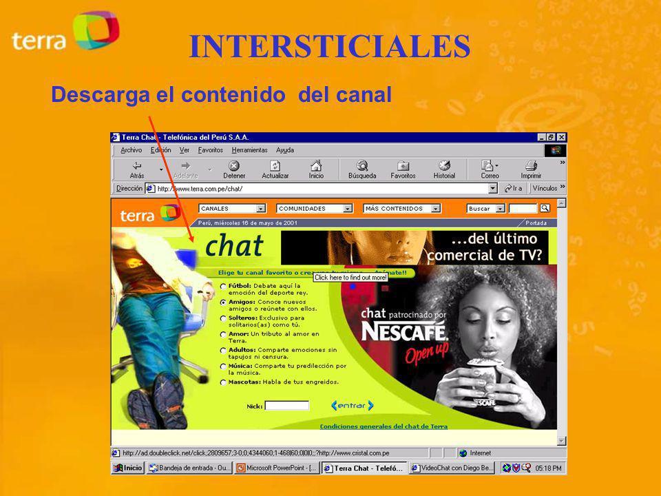 Descarga el contenido del canal INTERSTICIALES