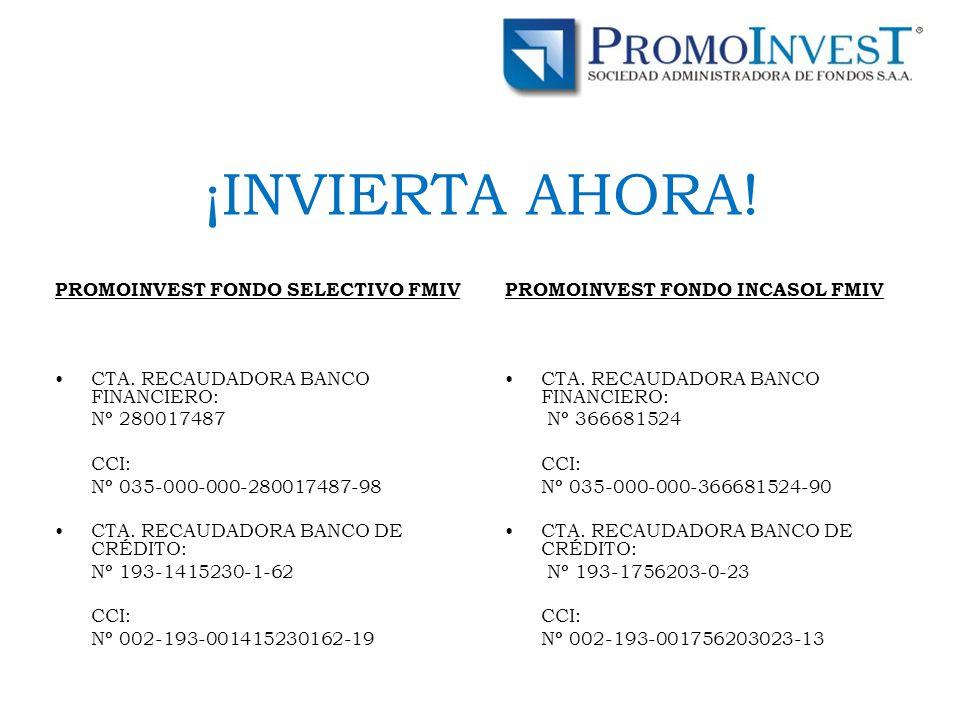 PROMOINVEST FONDO SELECTIVO FMIV CTA.