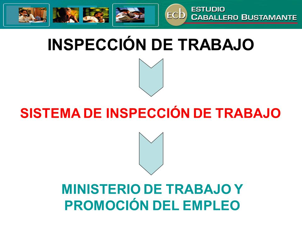 INSPECCIÓN DE TRABAJO SISTEMA DE INSPECCIÓN DE TRABAJO MINISTERIO DE TRABAJO Y PROMOCIÓN DEL EMPLEO