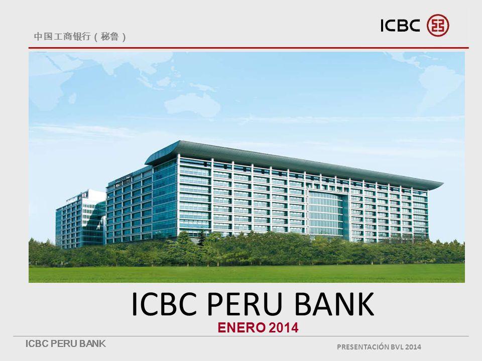 ICBC PERU BANK ENERO 2014 PRESENTACIÓN BVL 2014
