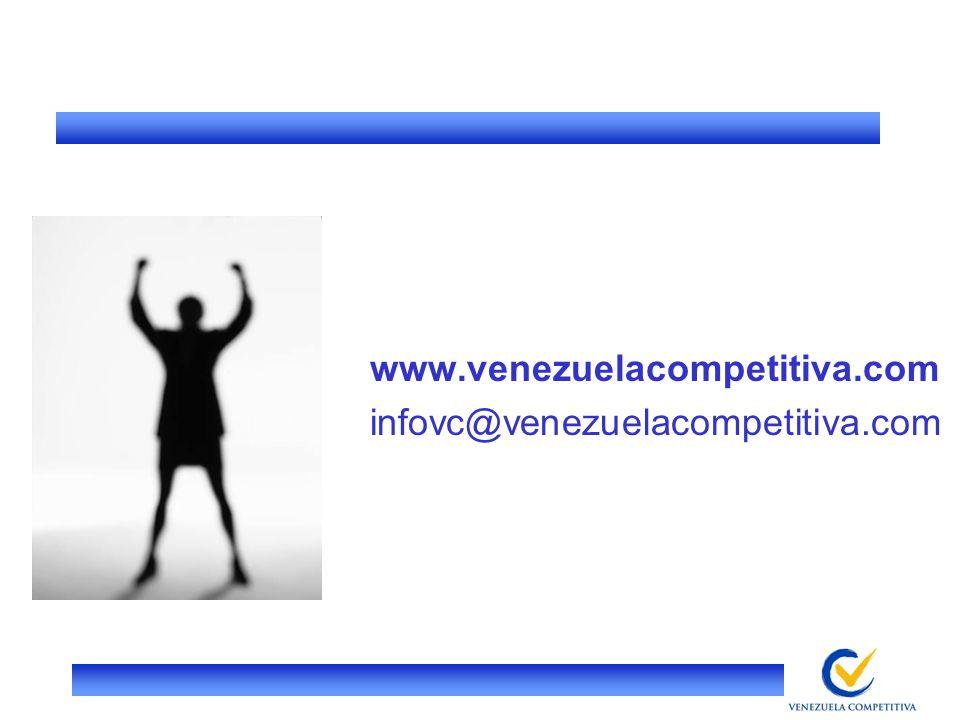 www.venezuelacompetitiva.com infovc@venezuelacompetitiva.com