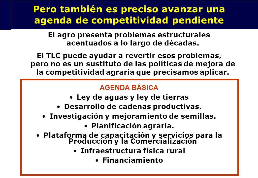 30 Medidas de Compensación Compensación Directa El estado asume en forma directa el costo Esquemas arancelarios El consumidor paga la cuenta Franja de precios, aranceles, sobretasas, etc.