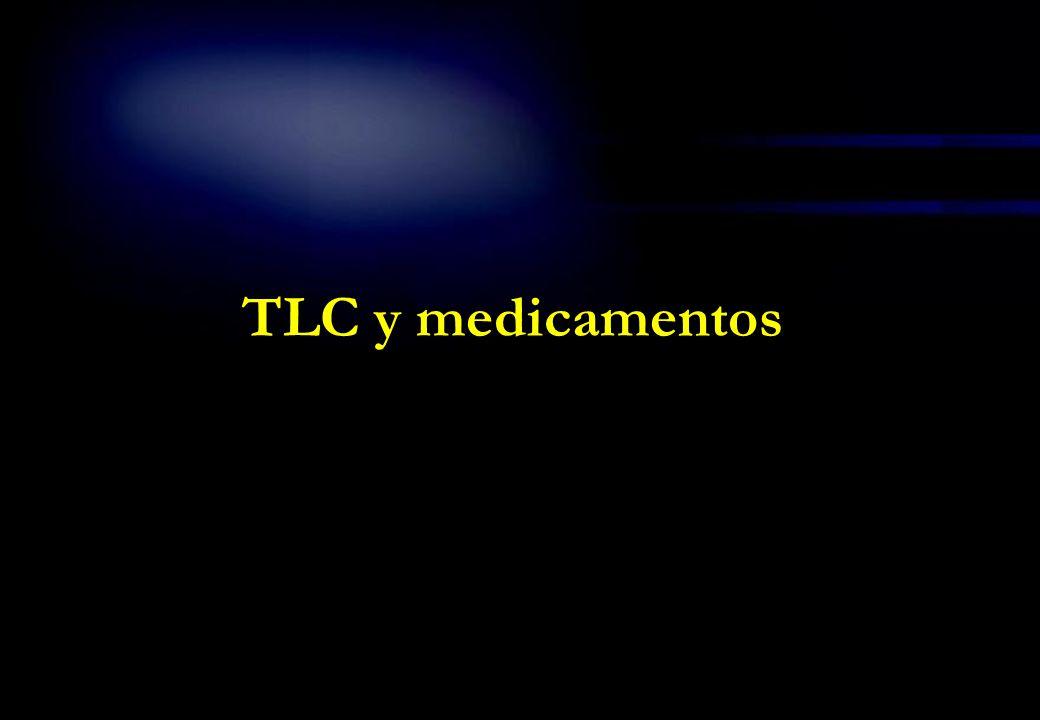 TLC y medicamentos