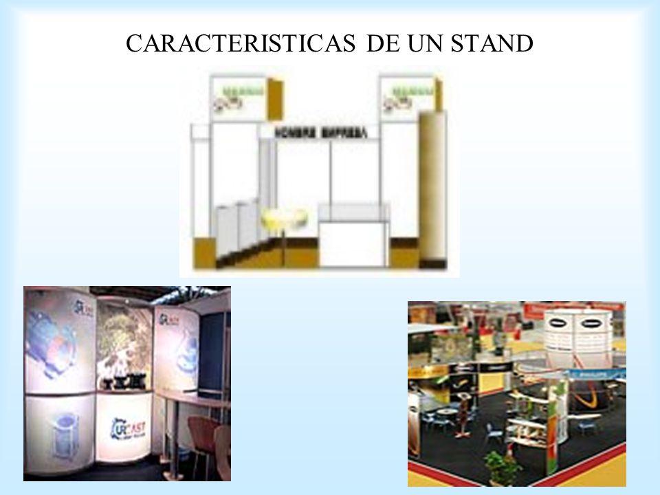CARACTERISTICAS DE UN STAND