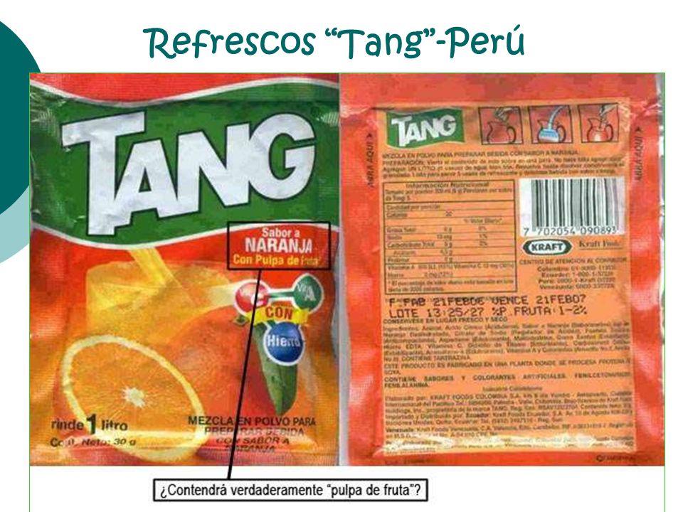 Refrescos Tang-Perú