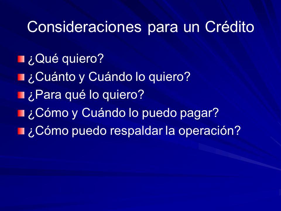 CREDITO La palabra crédito deriva de dos voces latinas: Credere = Creer Creditium = Reputación de Solvencia.