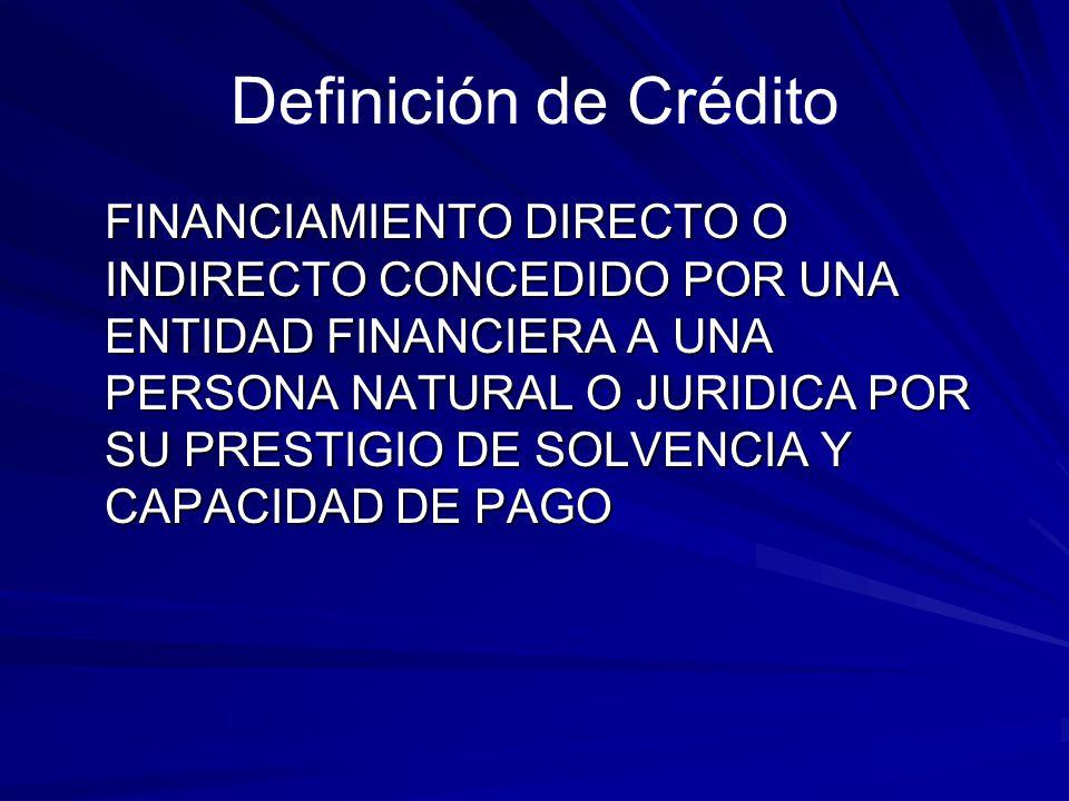 Etapas del Proceso Crediticio Selección Autorización Formalización Disposición Seguimiento Recuperación
