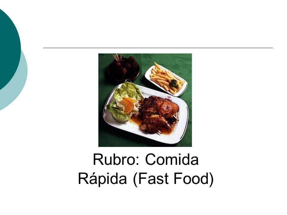 Rubro: Comida Rápida (Fast Food)