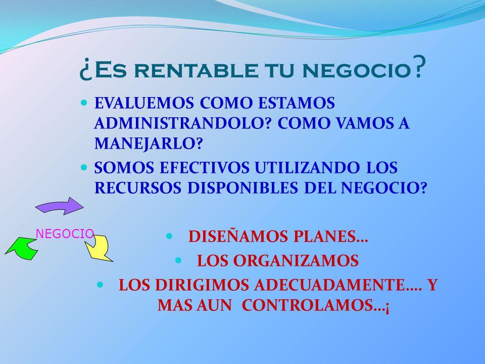 RATIOS DE RENTABILIDAD Evalúan los resultados de la gestión empresarial.