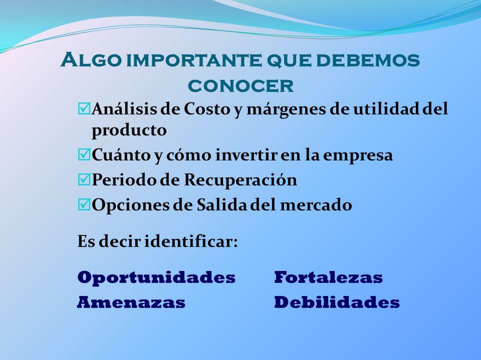 Margen Operativo Mide el grado de rentabilidad con que cuenta la empresa como resultado de disminuirle a las ventas el importe del costo de ventas.
