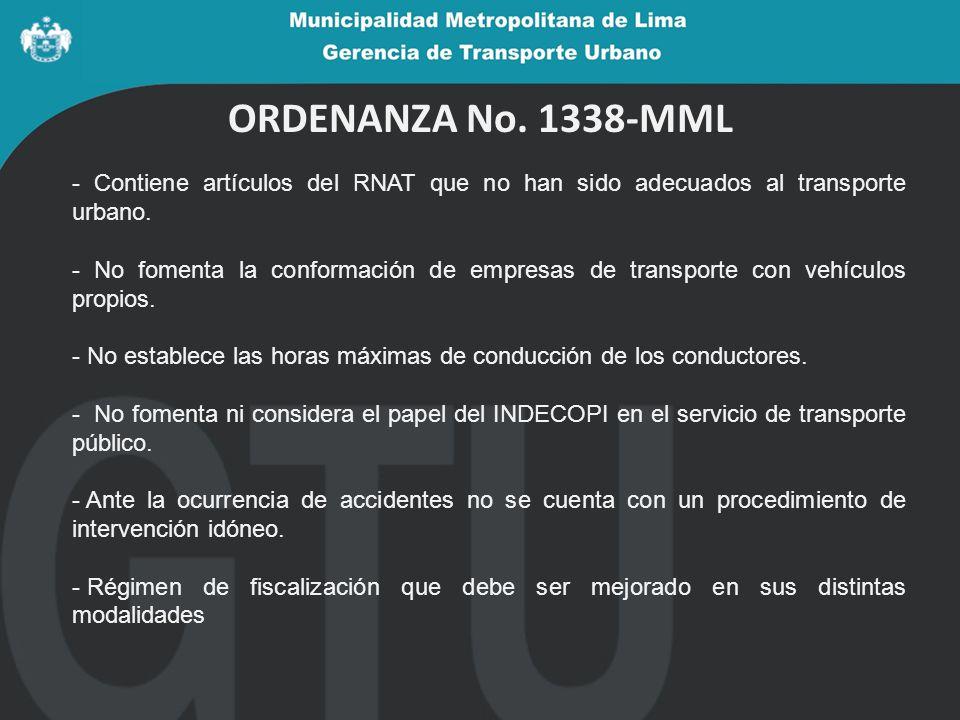 Participación ciudadana - El NRTP es el resultado de más de 11 sesiones de la Mesa Técnica de Transporte.