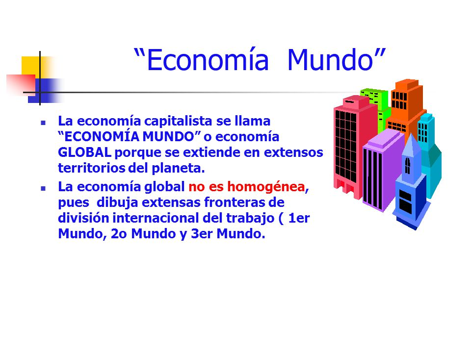 economia mundo capitalista: