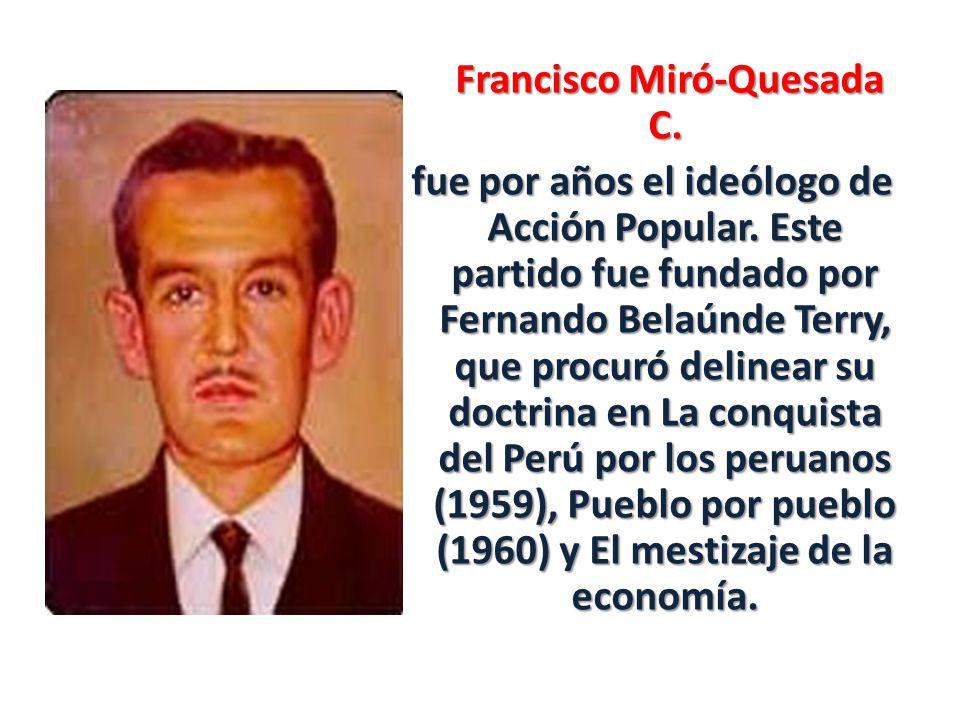 Francisco Miró-Quesada C.Francisco Miró-Quesada C.