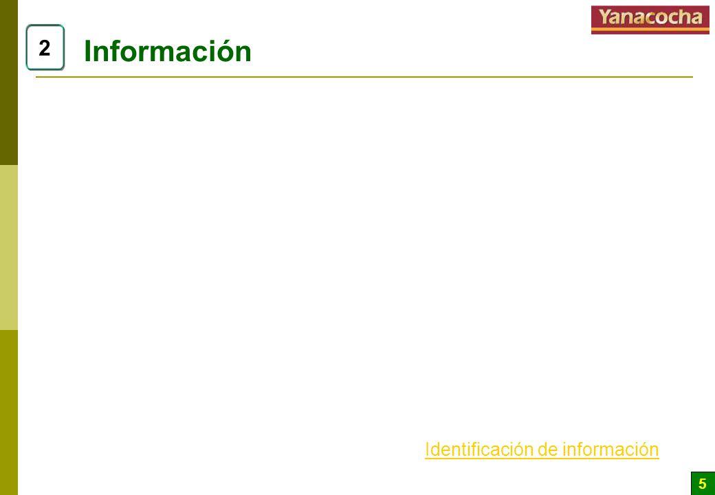 5 Información 2 Identificación de información
