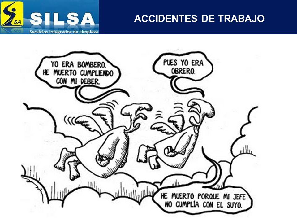 ACCIDENTES DE TRABAJO SEGÚN LA FORMA DEL ACCIDENTE Caída de personas.