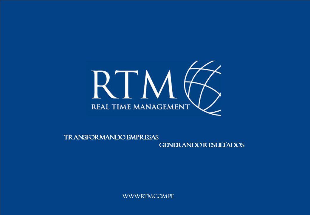 5 www.rtm.com.pe Transformando empresas Generando resultados www.rtm.com.pe