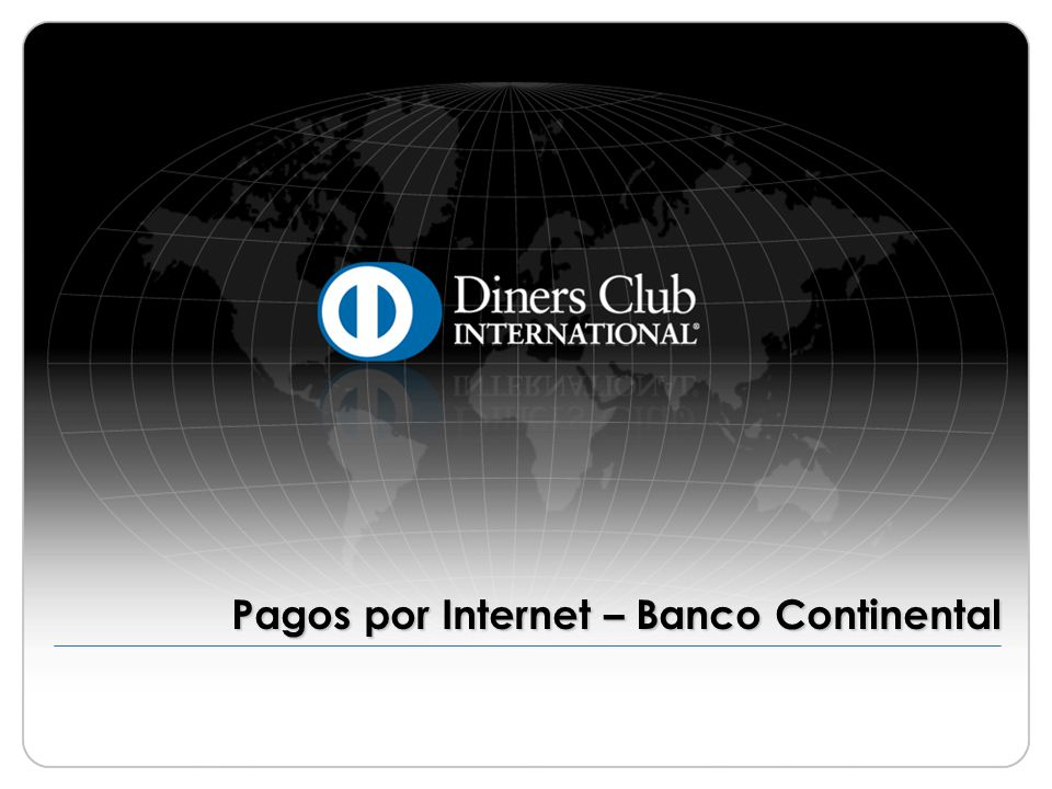 © 2009 Diners Club International Ltd.