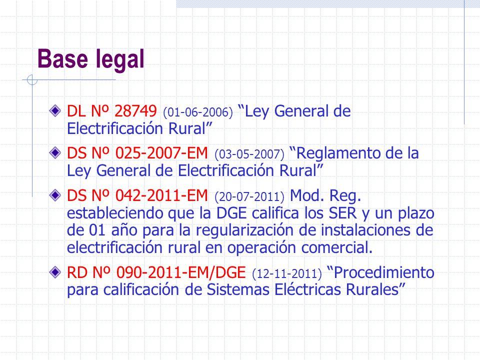 1) Para proyectos de la DGER, que cuenten con su SNIP, bastará copia del Informe técnico de aprobación o conformidad del proyecto, emitido por el área correspondiente de la DGER.